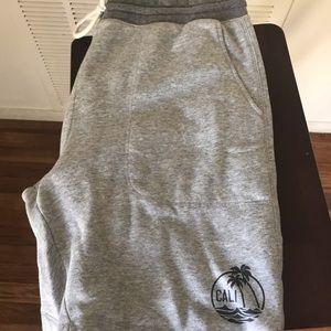 2 for $20 Men's california sweat shorts